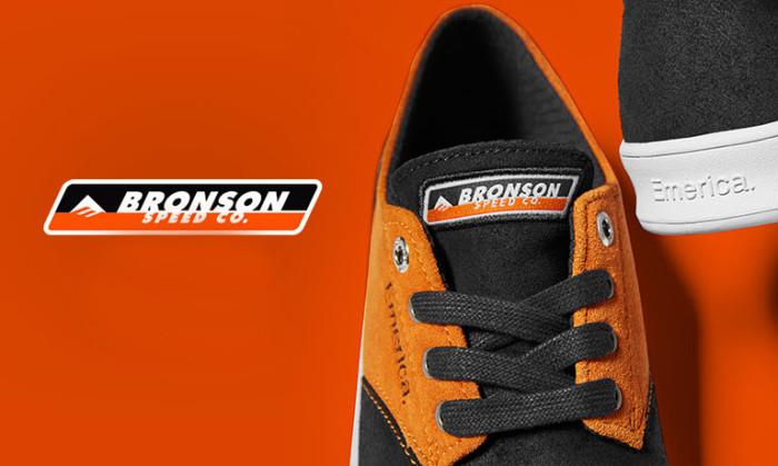 Emerica X Bronson: designed for today's Skateboarding