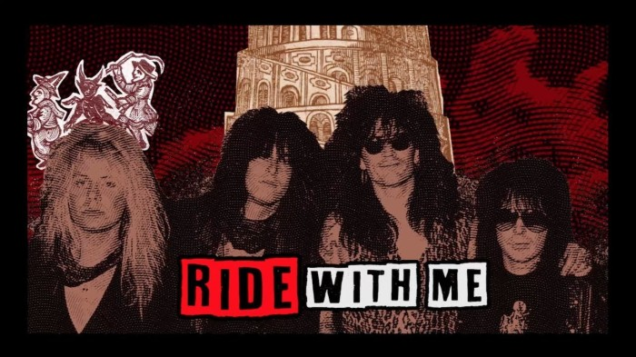 MÖTLEY CRÜE RELEASE BRAND NEW LYRIC VIDEO FOR 'RIDE WITH THE DEVIL'