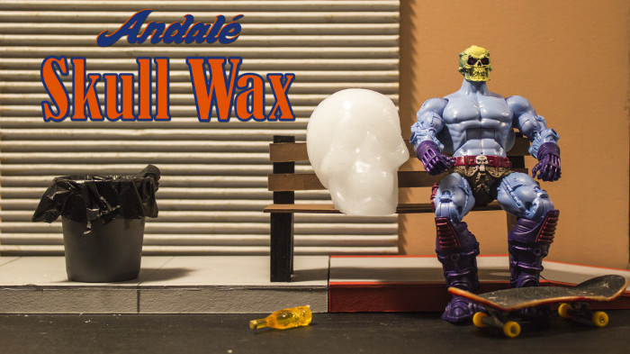 New Andale Skull Wax
