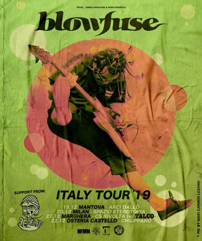 Blowfuse tornano in Italia per quattro date a Dicembre!