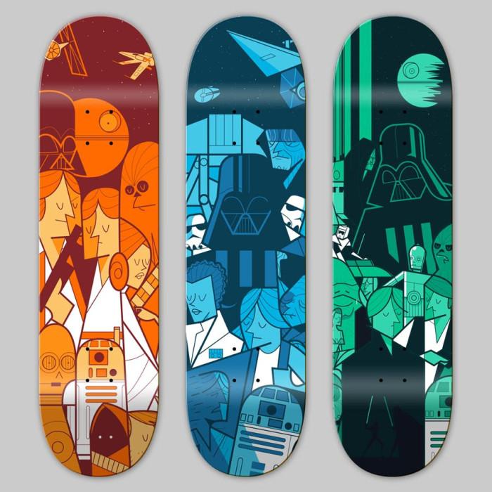 Star Wars Trilogy by Ale Giorgini