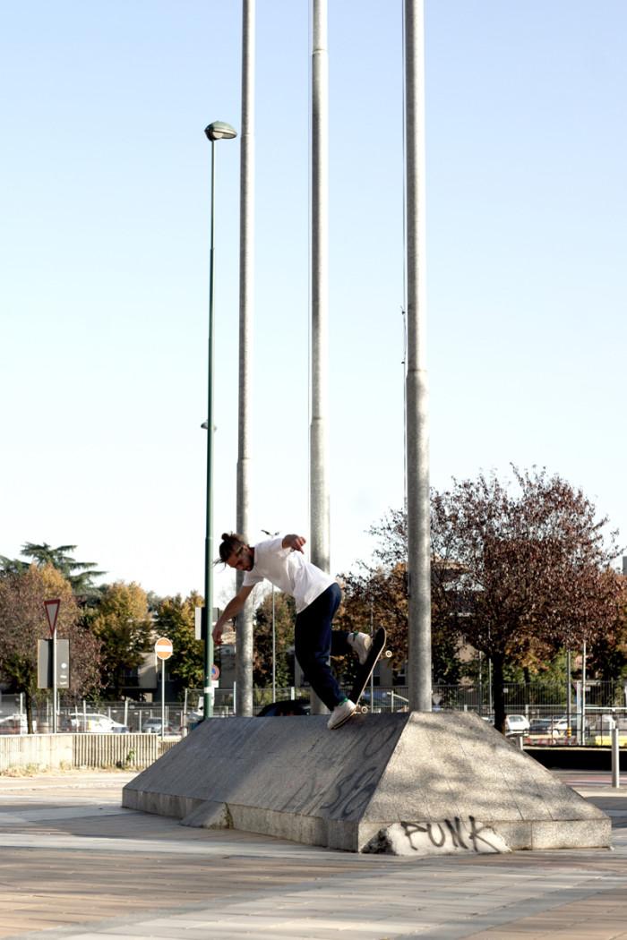Iriedaily Skate Team Milan Tour