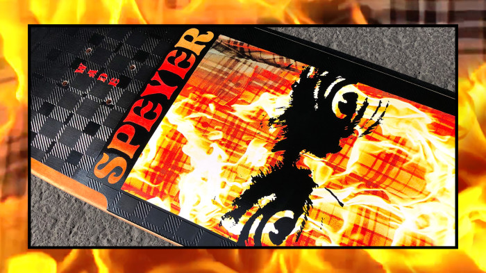 Madness skateboards 'Reign Of Fire'