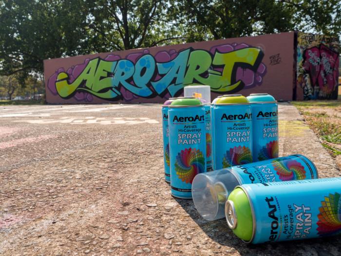 Painting on a budget using Australia's Aero Art