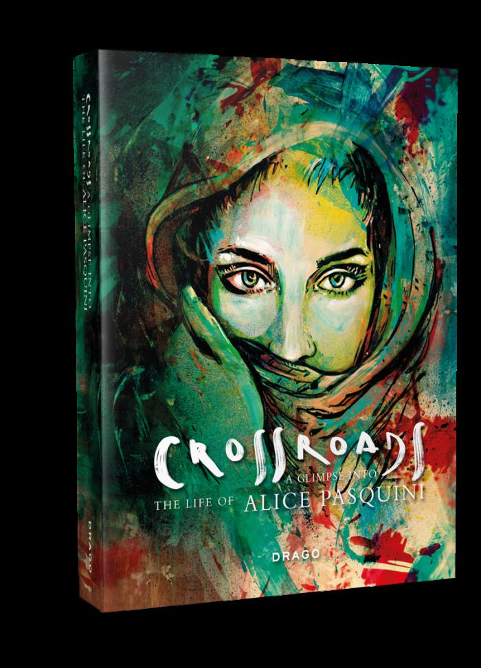 Drago presenta: 'Crossroads, a glimpse into the life of Alice Pasquini'