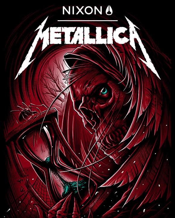 Nixon launches newest Metallica collaboration