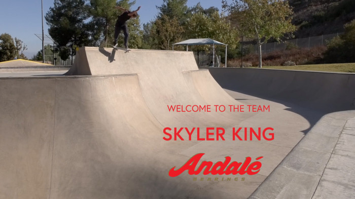 Welcome To The Team Skyler King!