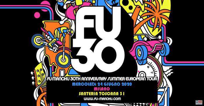 Fu Manchu live: Santeria 31