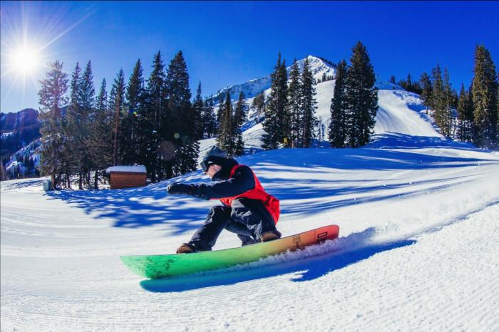 The New Nitro Mtn x Grif Snowboard