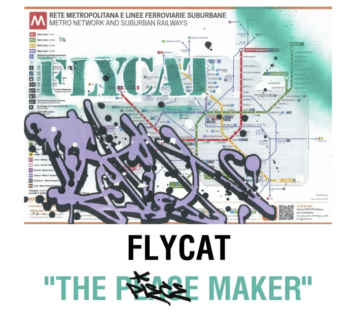 Flycat | il writing in mostra da MyOwnGallery | Superstudio Milano