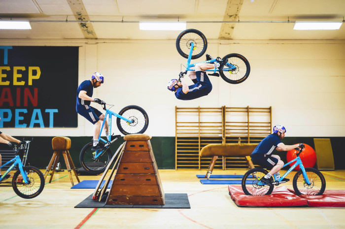 In a spin class of his own – Danny MacAskill hits the gym