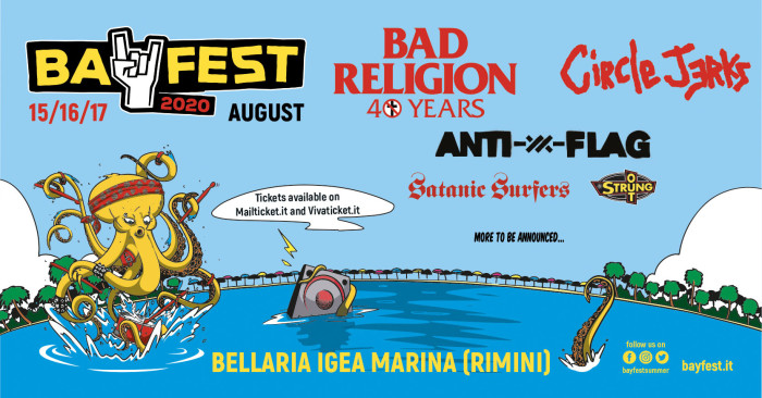 #BF20: Anti-Flag, Satanic Surfers e Strung Out in line up