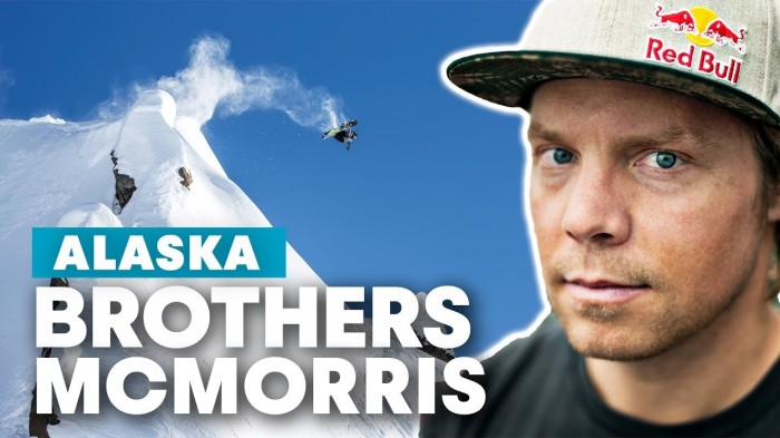 Snowboarding Alaska Lines with Travis Rice, Mark McMorris & Craig McMorris | Brothers McMorris