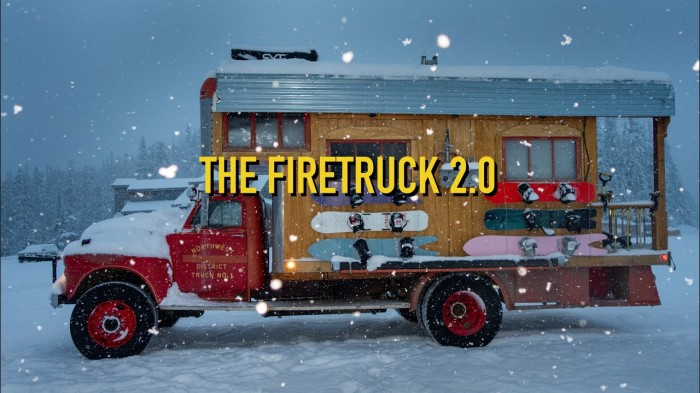 Nitro Snowboards: 'The Firetruck 2.0 – Destination Alaska' movie