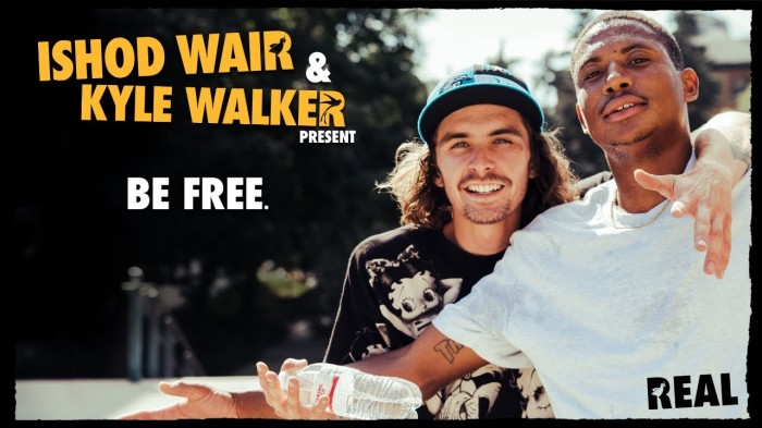 Ishod Wair & Kyle Walker's 'Be Free' video