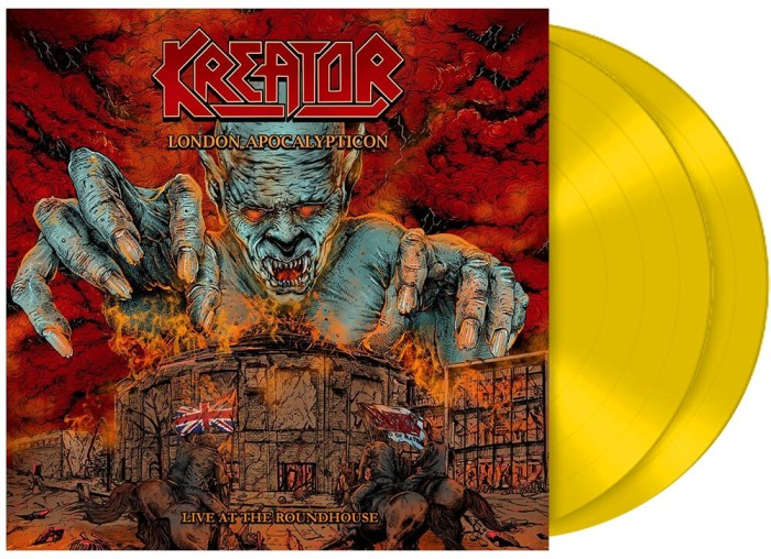 Kreator 'London Apocalypticon – Live At The Roundhouse'