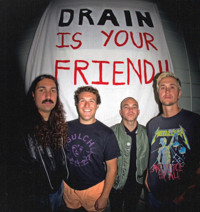 DRAIN ANNOUNCE 'CALIFORNIA CURSED' LP, PREMIERE NEW SONG 'SICK ONE'