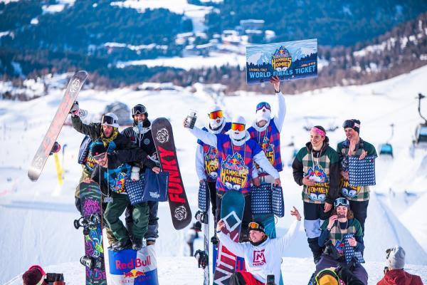 Nitro White Bandits vincono la prima tappa di Red Bull Hammers With Homies