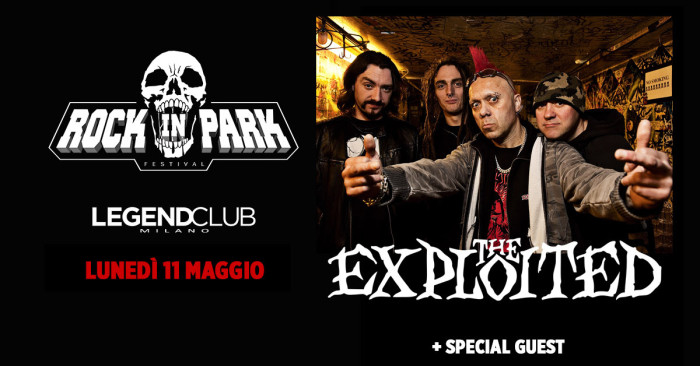 THE EXPLOITED x ROCK IN PARK FESTIVAL