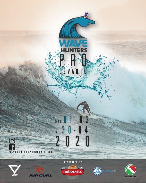 Wave Hunters Pro Levanto è on per Martedi 3 marzo