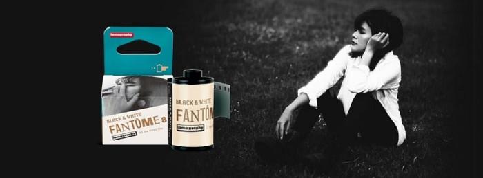 Nuova pellicola Lomography: la Fantôme Kino B&W ISO 8 35 mm