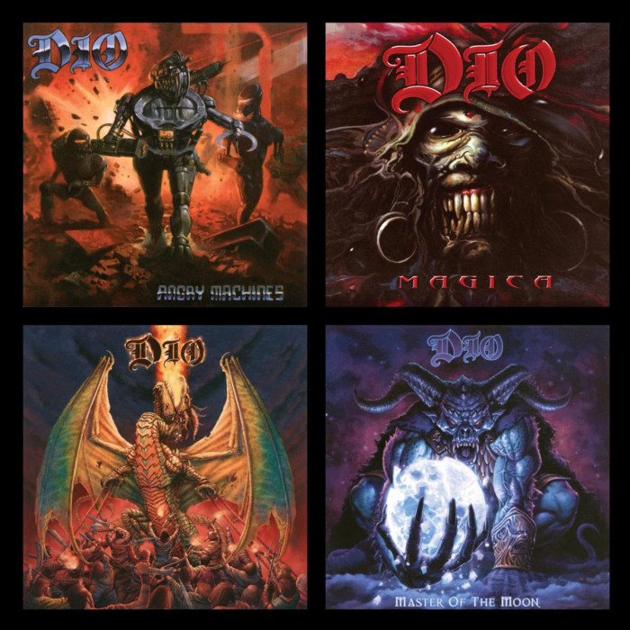 Dio 'Angry Machines' / 'Magica' / 'Killing The Dragon' / 'Master Of The Moon'-reissue