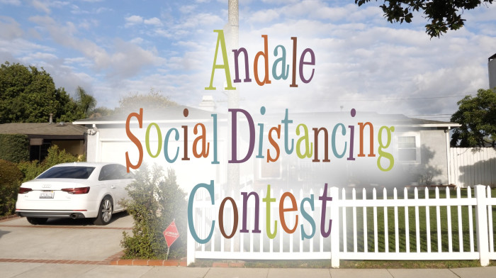 Andale Bearings Social Distancing Contest!