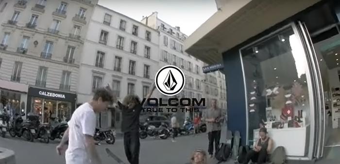 'Paris? Trust In Dustin Dollin' | #TrulyLiveParis | Volcom Skateboarding