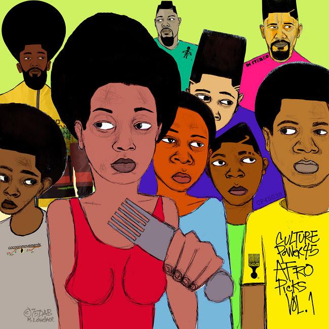 'Afro Picks' ft Tek (Smiff-N-Wessun), Akil (Jurassic 5), LIFE Long