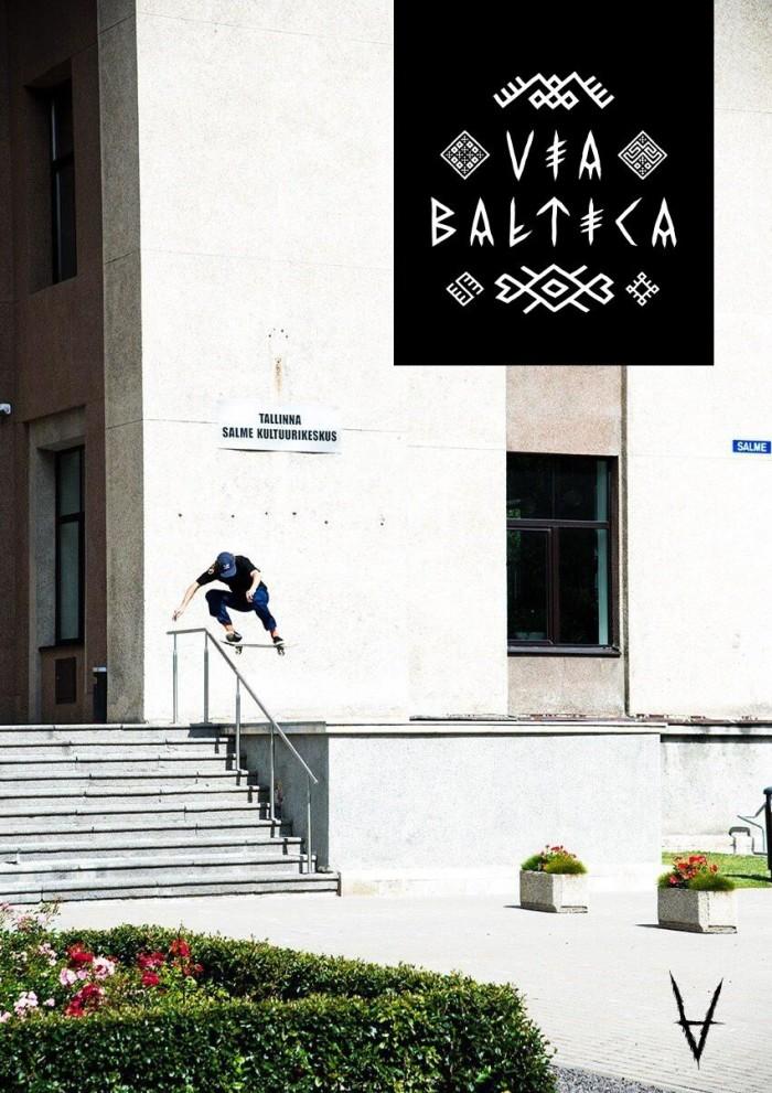 Antiz Skateboards 'Via Baltica' video out now!