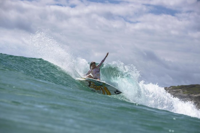 Maud Le Car Surfing Paradise in Mozambique