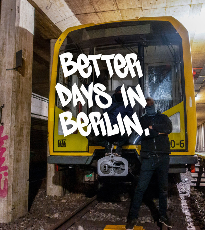 BSP CLOTHING VIDEO – 'BETTER DAYS IN BERLIN'
