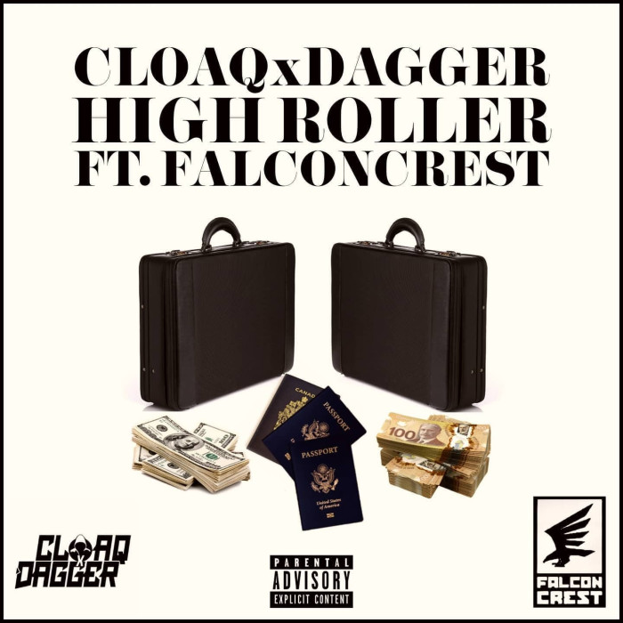 New CLOAQxDAGGER single 'High Roller' ft. Falconcrest