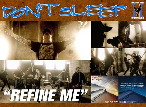 Don't Sleep (ex-Dag Nasty) debut new music video 'Refine Me'