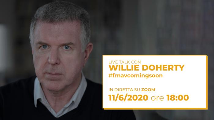 Giovedì 11 giugno, ore 18 – Talk con Willie Doherty | FMAV Coming Soon