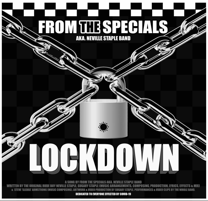From The Specials – Neville Staple Band releases timely 'Lockdown' single
