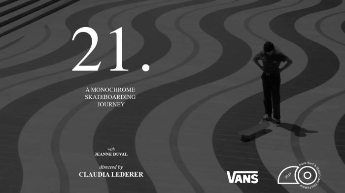 Jeanne Duval's '21.'   Skate   Vans
