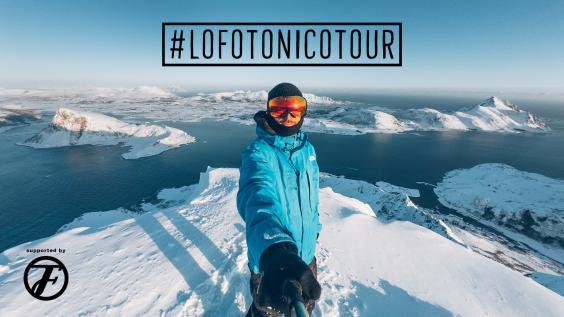 #LOFOTONICOTOUR – Freeride mission alle isole Lofoten
