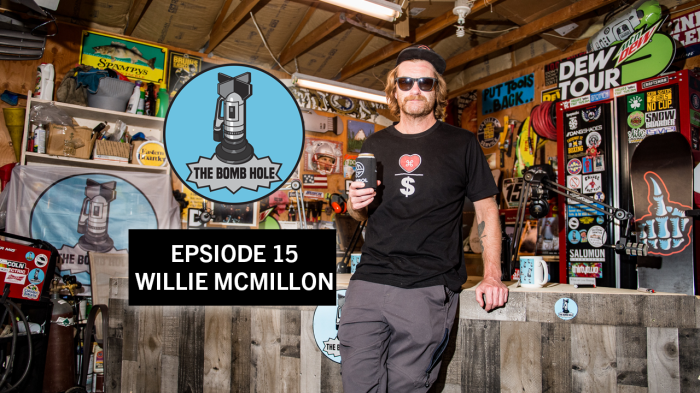 The Bomb Hole Podcast Ep #15 featuring Willie McMillon
