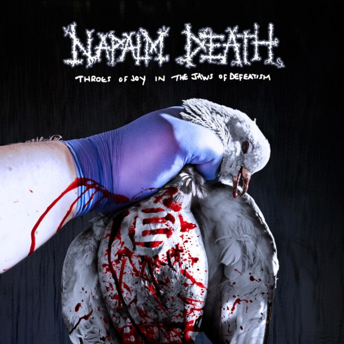Napalm Death 'Throes Of Joy In The Jaws Of Defeatism'