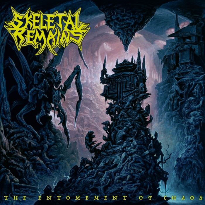 Skeletal Remains 'The Entombment Of Chaos'