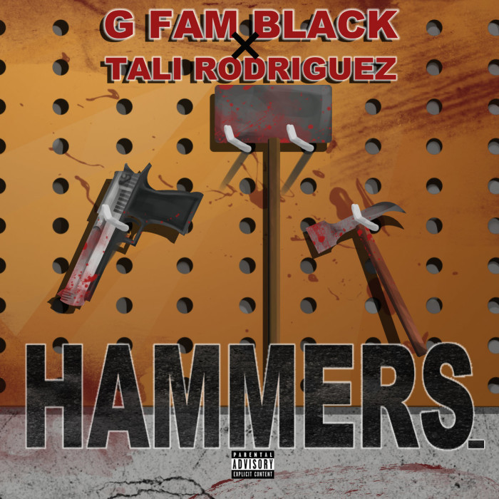 New G Fam Black EP prod by Tali Rodriguez