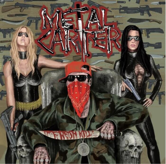 Metal Carter, il nuovo album 'Fresh Kill' è fuori ovunque