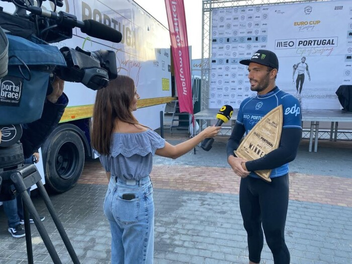 Frederico Morais takes 1st Place at the Portugal Cup of Surfing