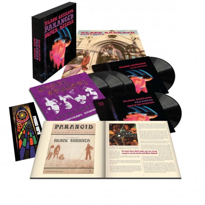 Black Sabbath 'Paranoid' (50th Anniversary Super Deluxe Box Set)