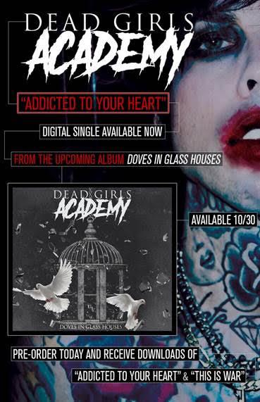 DEAD GIRLS ACADEMY ANNOUNCE NEW ALBUM DETAILS