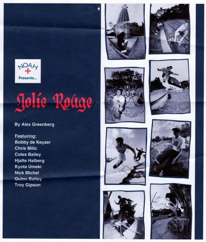 'Jolie Rouge' – Noah Clothing