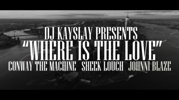 DJ Kay Slay feat. Conway, Sheek Louch & Jhonni Blaze (Video)