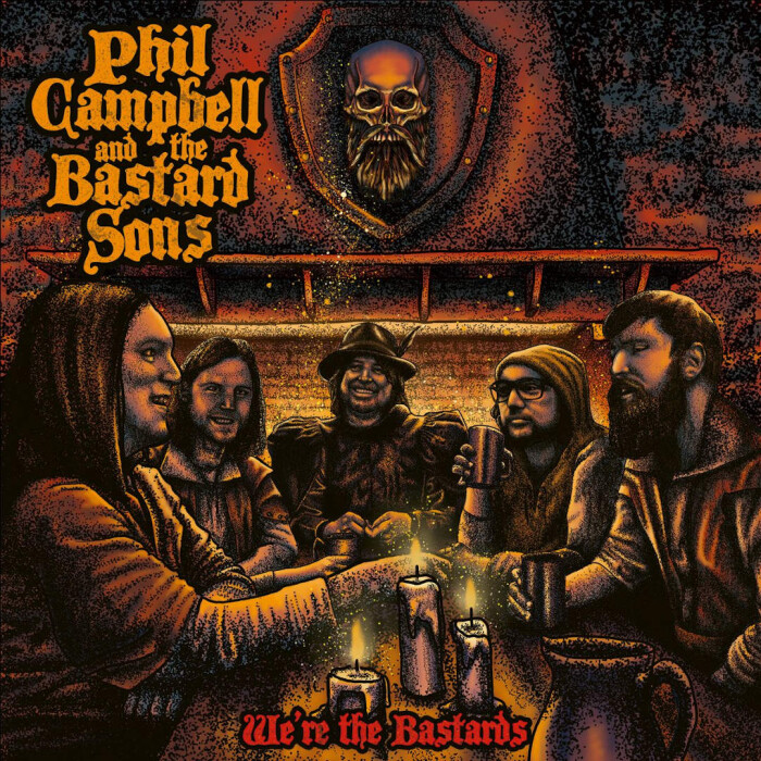 PHIL CAMPBELL AND THE BASTARD SONS 'WE'RE THE BASTARDS'