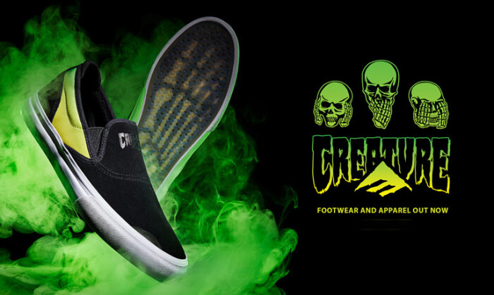 Emerica x Creature   Available Now